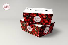 Fruit Box Packaging Design Elegant Playful Packaging Design For Global Fruit By Nitin