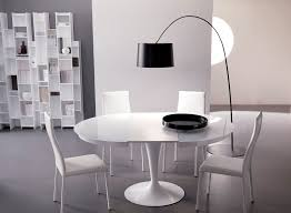 round white dining table. Round White Dining Table With Base Added Four Inside Extendable L