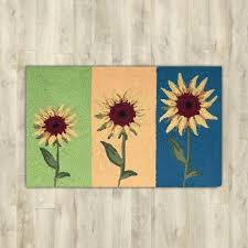 kitchen rug sunflower sunflower area rug sunflowers area rug sunflower kitchen area rugs sunflower kitchen