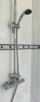 raise shower head raising a shower head plumbing