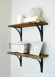 bathroom wall decorating ideas. Rustic DIY Bathroom Shelving | Decorating Ideas On A Budget Bathroom  Wall Decor Ideas Decorating