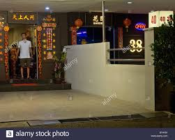 Singapore Red Light District Photo Legal Brothel In The Geylang Red Light District In Singapore