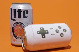 Miller Light Six Pack Miller Lite Turned A Beer Can Into A Video Game Controller