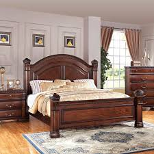 picture of isabella dark pine 5 pc king bedroom