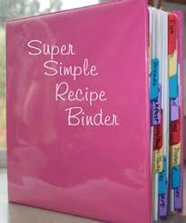book see more recipe binder i might do this to organize my gluten free recipes and add