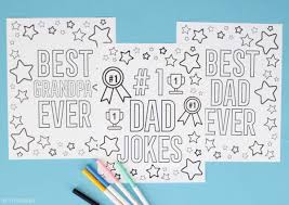 If you don't keep puns in your back pocket, we've got one ready for you. Father S Day Printables Pretty Providence