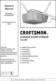 hp garage door