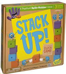 peaceable kingdom stack up award winning pre skills builder game