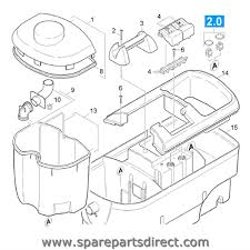 spare parts direct puzzi 100 main body parts