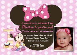 minnie mouse st birthday invitati beautiful minnie mouse 1st birthday