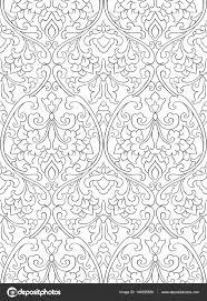 Patroon Met Bloemen Voor Behang Stockvector Matorinni 149295656