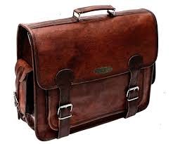 brown leather messenger bag for men 18 inch big women shoulder cross brown laptop computer