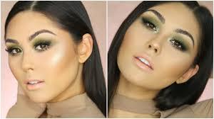 patty s day makeup tutorial don t get pinched lol green smokey eye