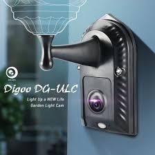 Door Light Camera Digoo Dg Ulc Gardening Flood Light Camera Wifi H 265 Hd