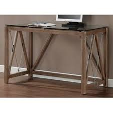 Desk glass top Ikea Desk Carbon Loft Glass Top Cable Desk Overstock Buy Glass Desks Computer Tables Online At Overstockcom Our Best