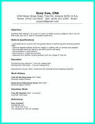 Exclusive Inspiration Sample Resume For Cna 3 Sample Resume Cna
