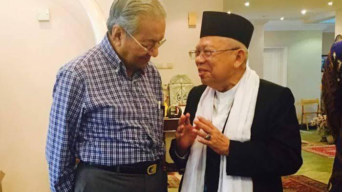 Terinspirasi Mahathir, Kiai Ma'ruf Amin Bahas Perkembangan NU di Malaysia