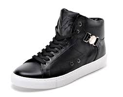 versace versace collection half medusa mens leather high top sneaker black com