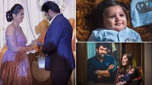 Meghana Raj Introduces Junior Chirranjeevi Sarja aka Jr C To The World!  Here's A Glimpse Of The Cute Little Simba (Watch Video)