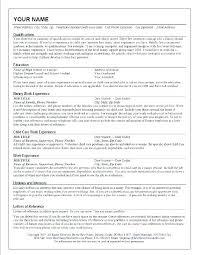 Babysitter Resume Template Custom Nanny Experience On Resume Sample Nanny Resumes Cover Letter Resume