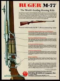 Ruger M77 Scope Ring Chart Pin On Gun Advertising Articles