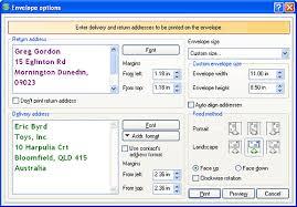 Envelopes Address Print Envelope Printing
