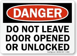 Lock Door Sign Home Page Please Signs Lock Door Sign E Nongzico