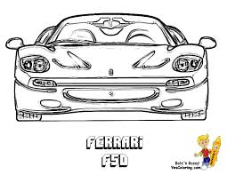 Dessin De Coloriage Ferrari Imprimer Cp11447