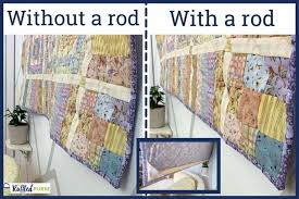 how to hang a quilt on the wall the