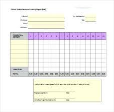 Weekly Progress Report Template Excel Hr Status Printable Download