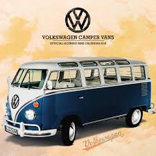 2018 volkswagen camper. wonderful volkswagen volkswagen campers mini calendar 2018 inside volkswagen camper h