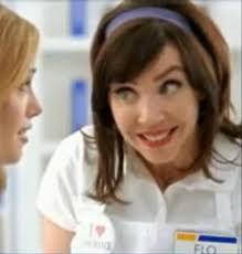 flo the progressive insurance checkout cashier