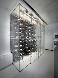 modern wine cellar in kitchen ideas key contemporary modern kitchen wine wall cellar