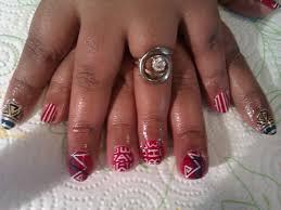 Red White Blue Nail Design Nail Designs Hair Styles Tattoo Fashion ...