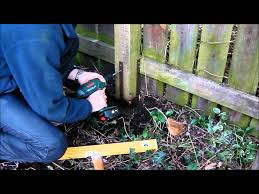 repair broken timber fence posts quick and easy with post buddy you