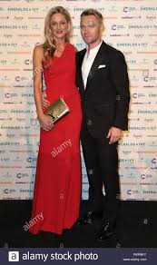 Ronan Keating and Storm Uechtritz arrives at The Emeralds And Ivy Ball in  aid of Cancer Research UK at Old Billingsgate Market in London Stock Photo  - Alamy