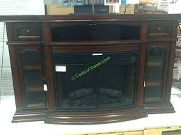 wall fireplace gas beautiful curved mount for new stand with tv console costco electric 2