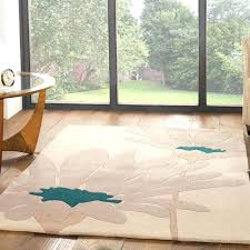 find a good large rug for your room teal and cream grey