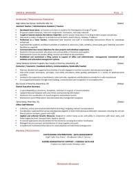 administrative support specialist resume cipanewsletter security specialist resume