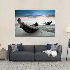 fishing boat wall art
