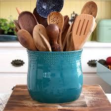 Kitchen Utensil Holder Extra Large Kitchen Utensil Holder 16 Colors Green Blue