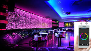 smartphone controlled lighting. Led Light Design: Amazing LED Lighting Systems With Chic Smartphone Controlled