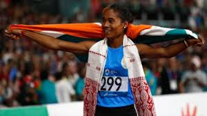 I did not know of olympics or even athletics then. Hima Das Wins 5th Gold Of The Month After Successful Return To 400m Sports News