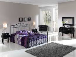 Leirvik Bedroom Black Polished Wrought Iron Leirvik Bed Frame Mixed Rectangle Gray