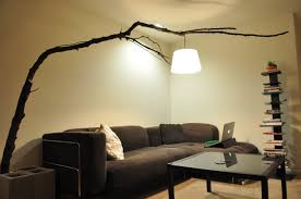 great tree branch light fixture lighting diy decor shade led fitting outdoor ceiling
