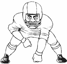 Small Picture Sport Football Player Coloring Pages Day Care Pinterest