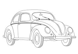 Coccinelle Volkswagen Coloriage De Voitures Coloriages Pour