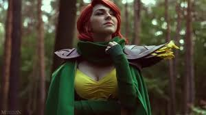 a day with windranger dota 2 cosplay coub gifs with sound