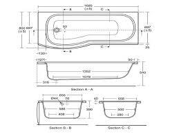 large bathtub dimensions awesome size bathtub in feet