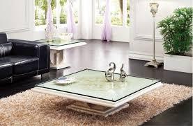 china square marble stone base glass